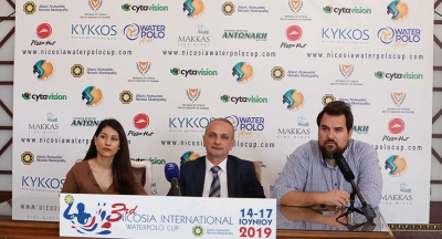 Press conference regarding the 3rd Nicosial International Waterpolo Cup